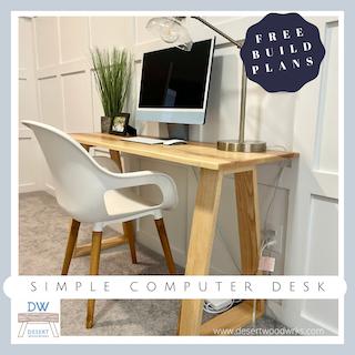 Computer Desk Build Plans